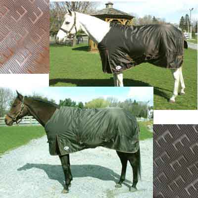 "60"" OF North Wind Turnout Blanket Waterproof Breathable Turnout Blanket Horse Blanket Winter Blanket Bronze Gold"