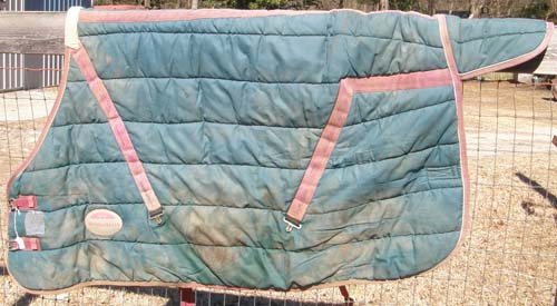 "66"" OF WeatherBeeta Quilted Stable Blanket Turnout Blanket Horse Winter Blanket"