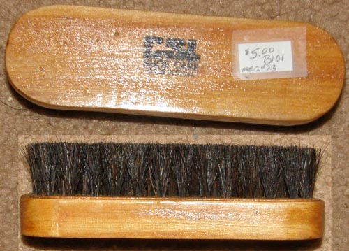 Vintage CSL Shoe Care Soft Horsehair? Brush Soft Face Brush Horse Hair? Grooming Brush