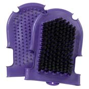 Scrub and Wash Mitt Black