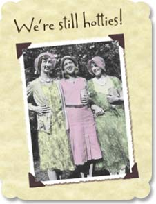 Cards paper pg 2 birthday card leanin tree greeting card middle aged woman were still hotties card m4hsunfo