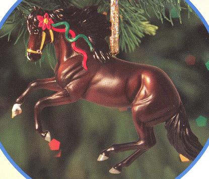 Breyer #700512 Peruvian Paso Beautiful Breeds Christmas Ornament Holiday Horse Ornament 2012