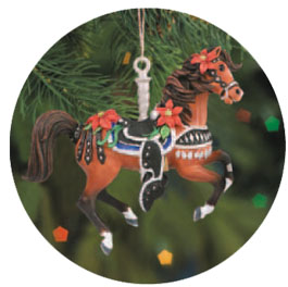 Breyer #700605 Prancing Parade Horse Christmas Ornament Holiday Ornament Carousel Horse Ornament 2005
