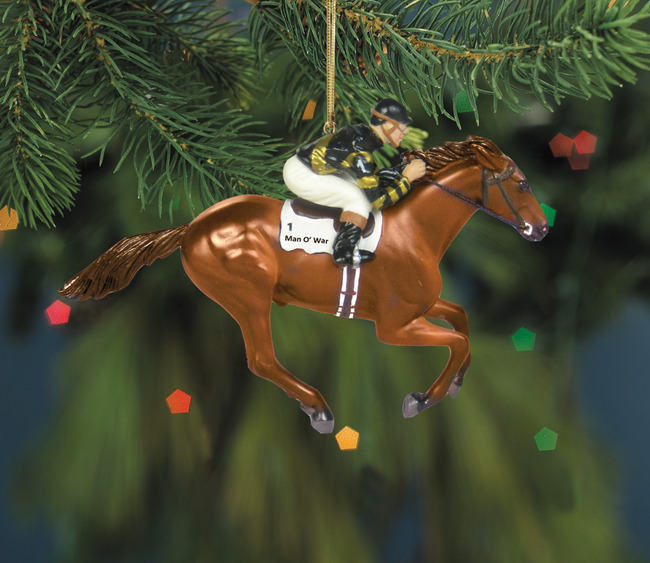 Christmas Tree Ornaments Horse: Discontinued Holiday Pg1