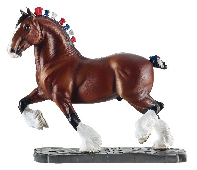 Breyer #8254 Breeds Of The World Clydesdale
