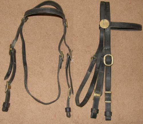 Headstalls For Draft Horses Draft Horse Bridle English