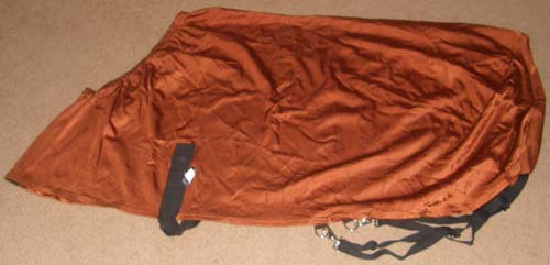 Horse Closet Lycra Stretch Sheet Slinky Sheet Slicker Sheet Lycra Full Body Sleazy Sheet Blanket Liner Pony S Horse Rust Burnt Orange