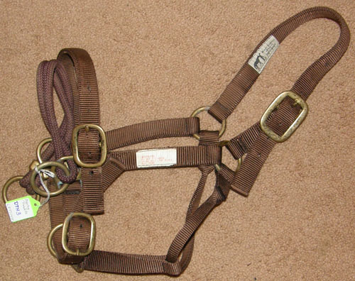 Monty Robert's Dually Training Halter Small Horse Large Pony Brown