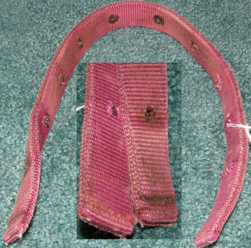 Replacement Halter Crown Piece Nylon Halter Crown Piece Wine