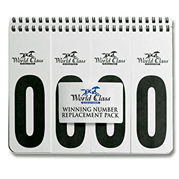 World Class Equine Winning Numbers Replacement Book Number Case Holder