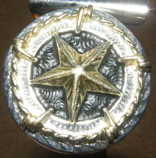 Class Clips Horse Show Number Clip Show Exhibitor Number Pin Horse Show Number Holders Silver Texas Star Concho