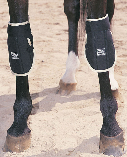 Intec Flex Rider Magnetic Knee Wraps Horse Magnet Therapy Boots