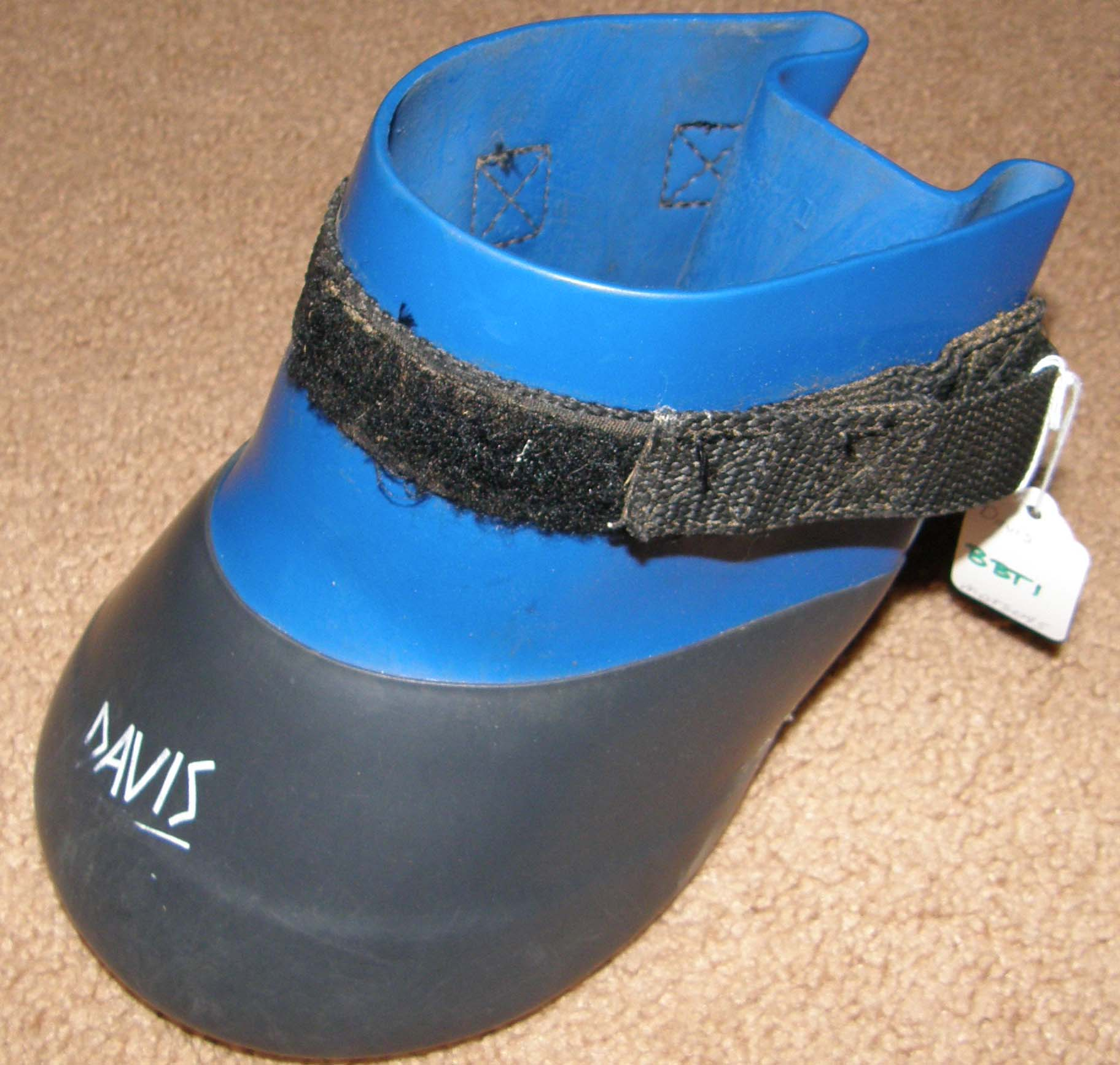 Davis Horse Boot Barrier Boot Soaking Boot Size 1 Blue