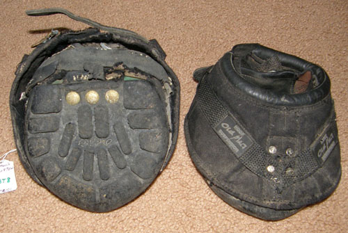 Old Mac's Original Multi-Purpose Horse Boots Old Mac Original Horse Hoof Boot Sz 3