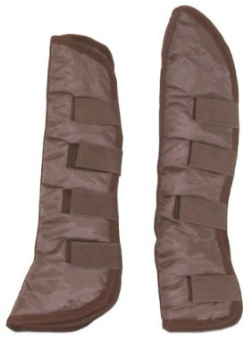 Gatsby Nylon Lined High Shipping Boots Horse Brown