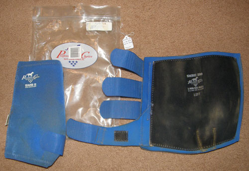 Professional's Choice SMB II 200 Sports Medicine Boots Leg Protection L Horse Blue