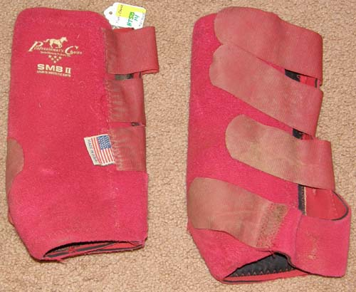 Professional's Choice SMB II 100 Sports Medicine Boots SMB Boots Leg Protection M Horse Red