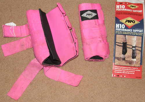 PRO H10 Equine Performance Support Boot Sport Boots Tendon Boots Splint Boots Combo Boots Hot Pink M Horse