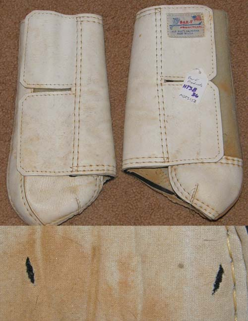 Bar F The Finalist Galloping Boots Sports Medicine Boots Leg Protection L Horse White