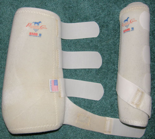 Professional's Choice SMB II 300 Sports Medicine Boots Leg Protection XL Horse White