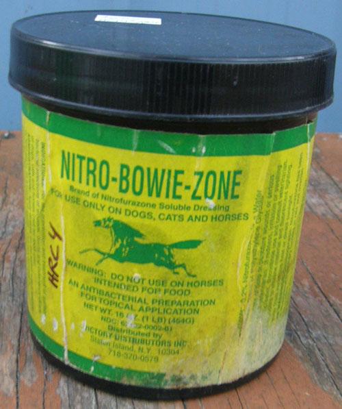 Nitrofurazone Soluble Dressing Horses