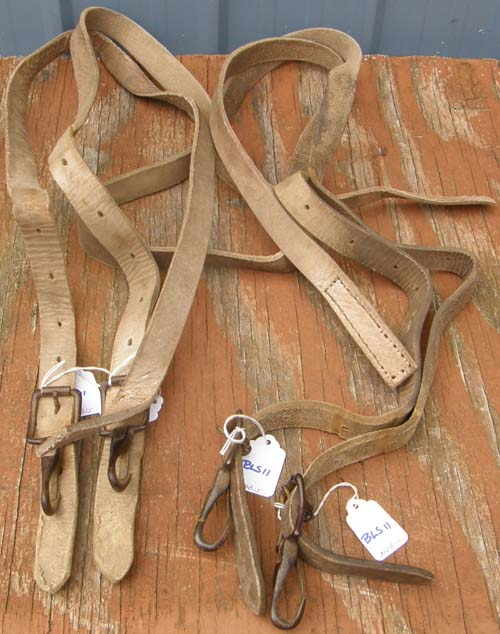 New Zealand Rug Replacement Leg Strap for Horse Blanket or Sheet Leather Leg Strap with Snap