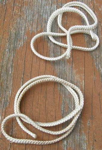 Replacement Braided Tail Cord White