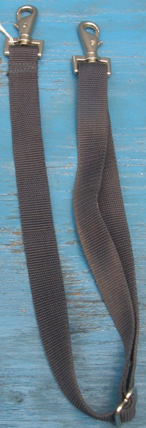 Replacement Nylon Leg Straps for Horse Blanket or Sheet Navy Blue