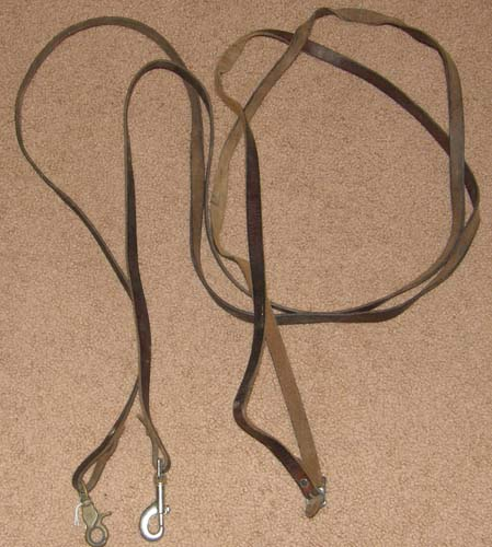 Leather Draw Reins with Snaps English Draw Reins Western Draw Reins