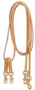 Tory Harness Leather Draw Reins Pulley Draw Reins