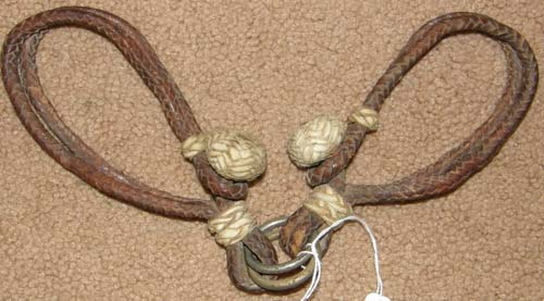Vintage? Braided Leather Hobbles Braided Rawhide Western Show Hobbles