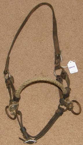 Rope Nose Side Pull Headstall Sidepull Training Headstall Pony/Cob