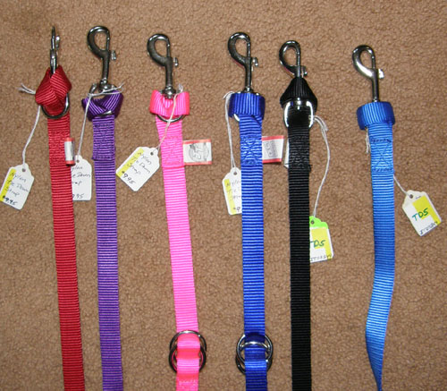 Tough-1 Nylon Web Tie Down Strap Western Tiedown Strap Pink Red Blue