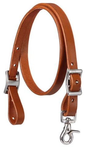 Royal King Single Ply Leather Tie Down Western Tiedown Strap Dark Chestnut