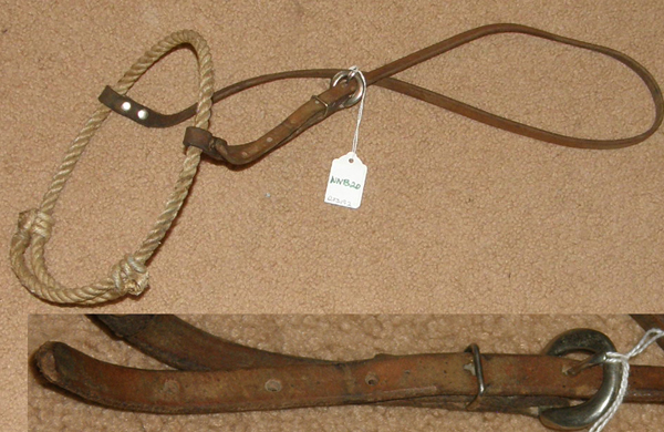 Rope Caveson Noseband Western Training Caveson Adjustable Rope Noseband