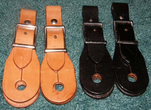 Slobber Straps Buckle On Style Harness Leather Conway Buckle