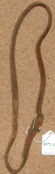 Pony Bridle Western Bridle Throatlatch Strap Replacement Bridle Piece
