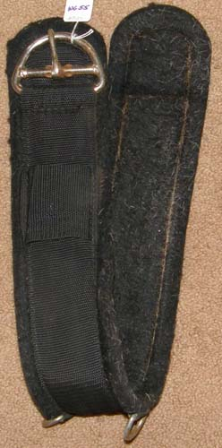 "Felt Lined Nylon Western Girth Western Cinch 32"" Black"
