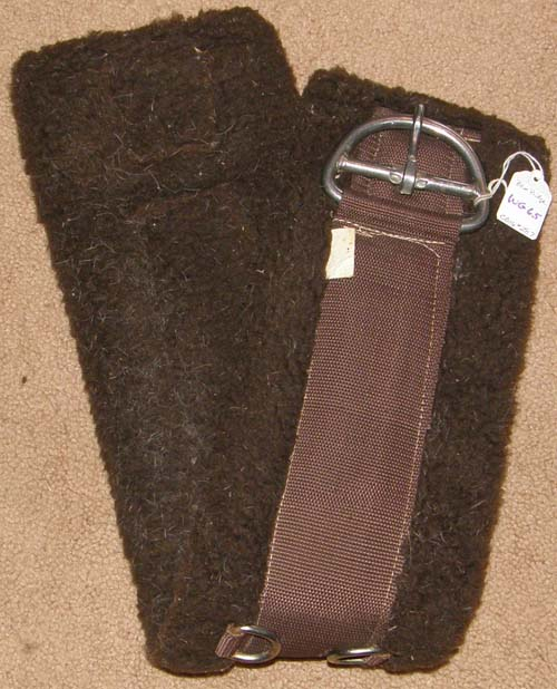 Blue Ridge Fleece Western Girth Brown Fleece Western Cinch 29""