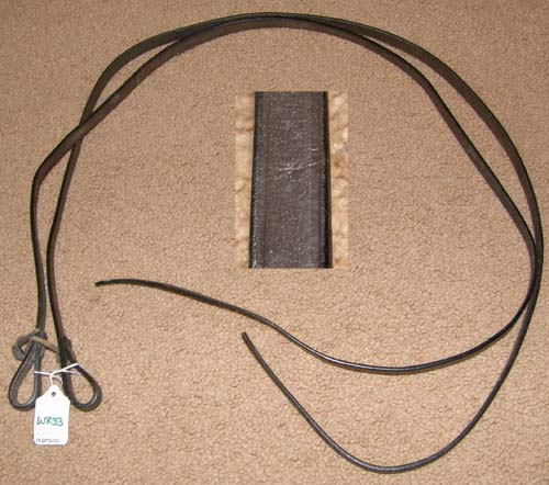 "Leather Western Reins Western Split Reins Mini Horse Pony Reins 1/2"" x 4' Dark Oil"